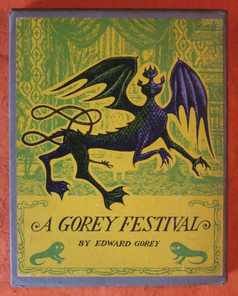 Image for A Gorey Festival: The Hapless Child / The Sinking Spell / The Fatal Lozenge / The Curious Sofa ( Four Volume Set in Slipcase)