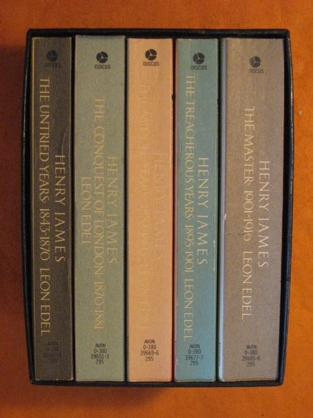 Image for Henry James the Complete Biography -- 5 Vol. Boxed Set