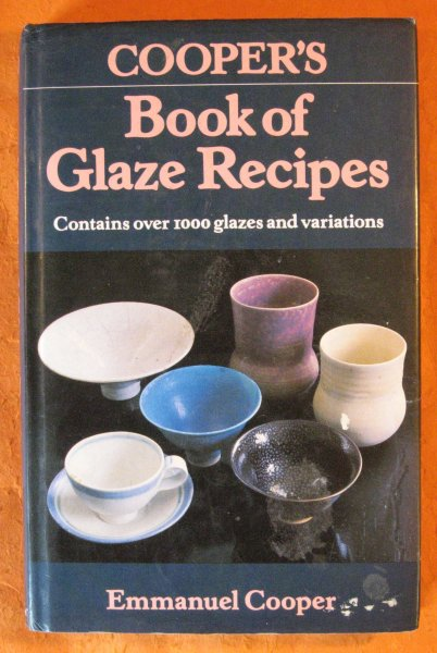 Image for Cooper's Book of Glaze Recipes