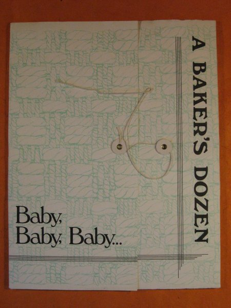 Image for A Baker's Dozen:  Baby, Baby, Baby