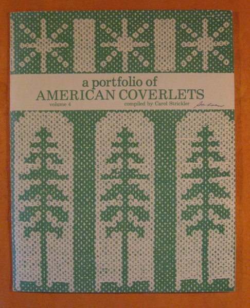 Image for Portfolio of American Coverlets (Volume 4), A