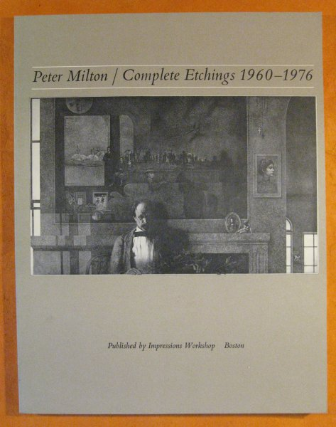 Image for Peter Milton / Complete Etchings, 1960 -- 1976