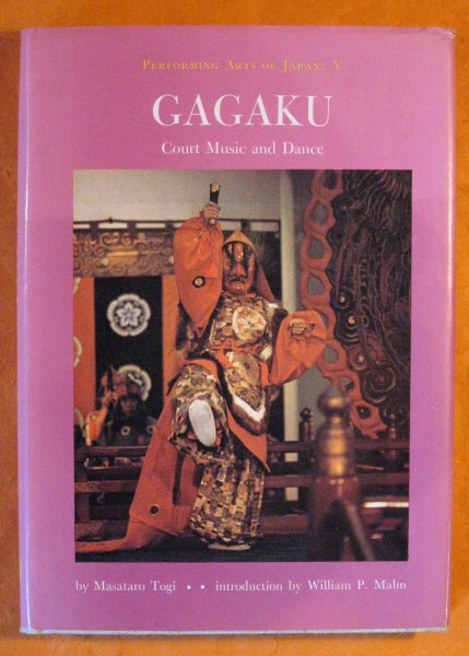 Image for Gagaku;: Court Music and Dance (Performing arts of Japan V)