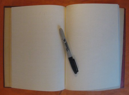 Image for Blank Sketch Book / Journal (Thermodynamic Properties of Steam)