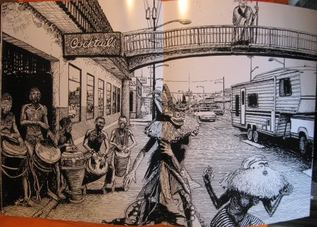 Image for City of Spirits:  The Seattle Drawings of Jon Strongbow, Volume One