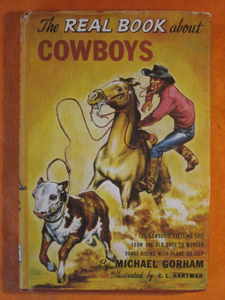 Image for The Real Book About Cowboys