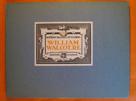 Image for William Walcot:  Modern Masters of Etching, No. 16