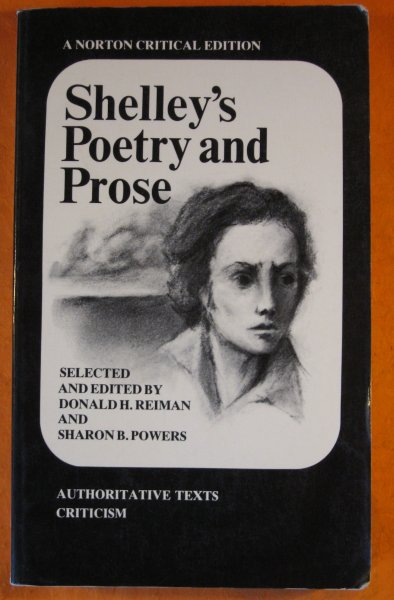 Image for Shelley's Poetry and Prose: Authoritative Texts, Criticism (Norton Critical Edition)