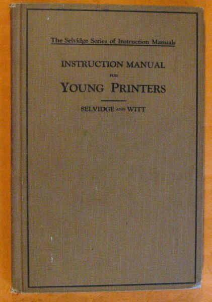 Image for Instruction Manual for Young Printers
