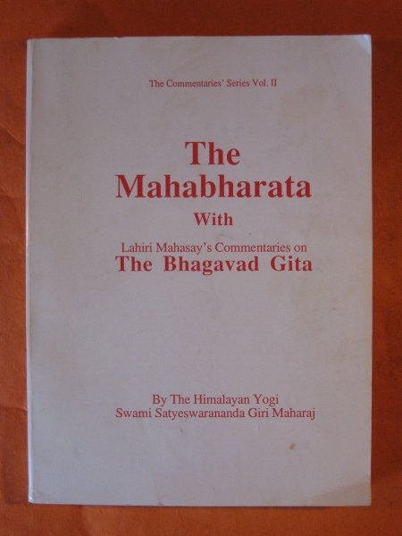 Image for The Mahabharata with Lahiri Mahasay's Commentaries on the Bhagavad Gita