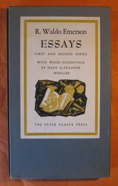 Image for Essays: First and Second Series