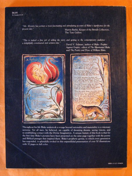 Image for William Blake: The Seer and His Visions