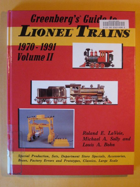 Image for Greenberg's Guide to Lionel Trains, 1970-1991, Vol 2