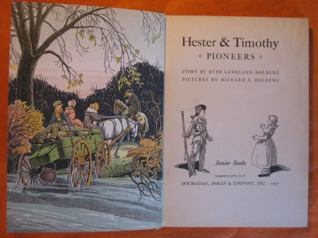Image for Hester & Timothy:  Pioneers