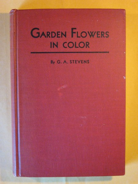 Image for Garden Flowers in Color:  A Picture Cyclopedia of Flowers