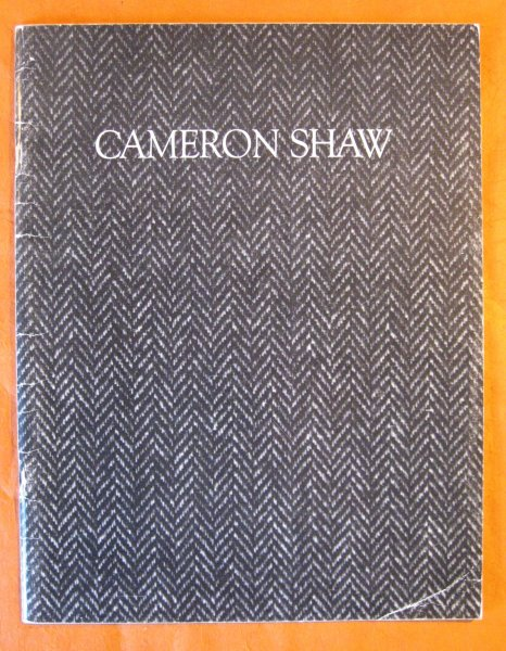 Image for Cameron Shaw:  Selected Works 1898-1990