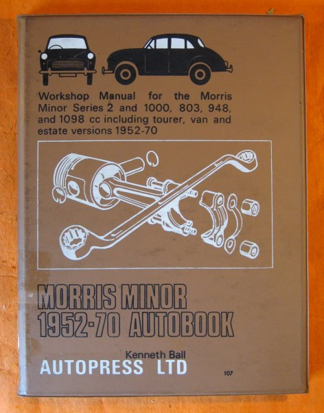 Image for Morris Minor 1952-71 Autobook