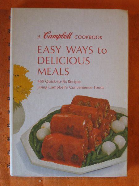Image for A Campbell Cookbook:  Easy Ways to Delicious Meals