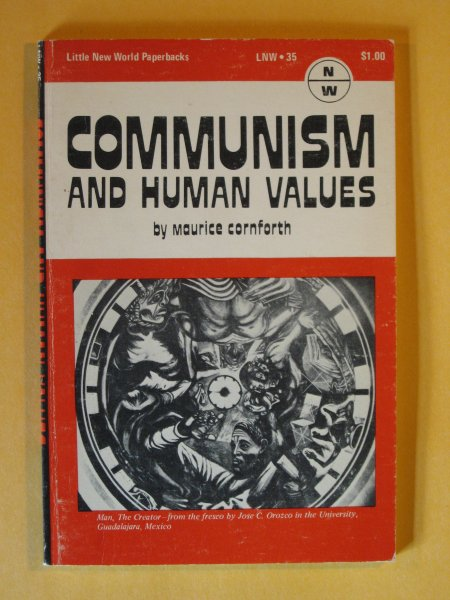 Image for Communism and Human Values, (Little new world paperbacks, LNW 35)