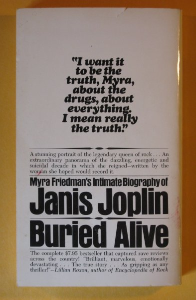 Image for Janis Joplin: Buried Alive