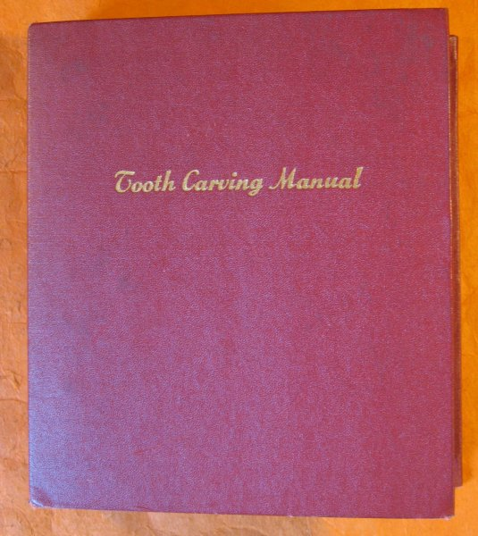 Image for Tooth Carving Manual