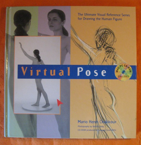 Image for Virtual Pose: The Ultimate Visual Reference Series for Drawing the Human Figure