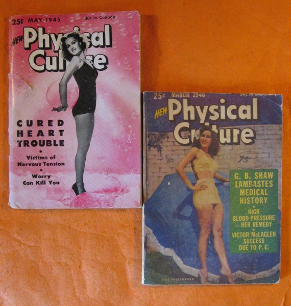 Image for Two Copies of New Physical Culture Magazine, May 1945 and March 1946