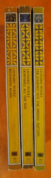 Image for Three Volumes of Leonard Woolf's Autobiography