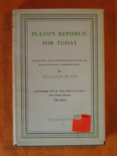 Image for Plato's Republic for Today