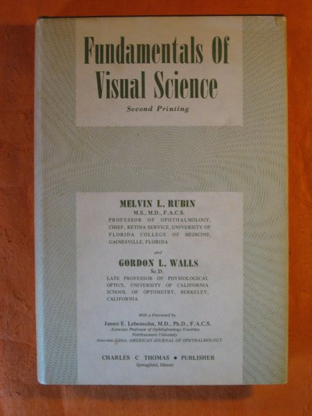 Image for Fundamentals of Visual Science