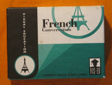 Image for French Conversation: Compact Facts Study Cards