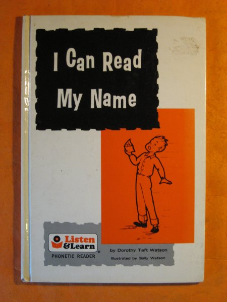 Image for I Can Read My Name (Listen and Learn Phonetic Reader)