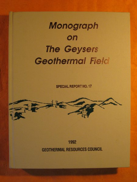 Image for Monograph on the Geysers Geothermal Field {California]  (Special Report No. 17))
