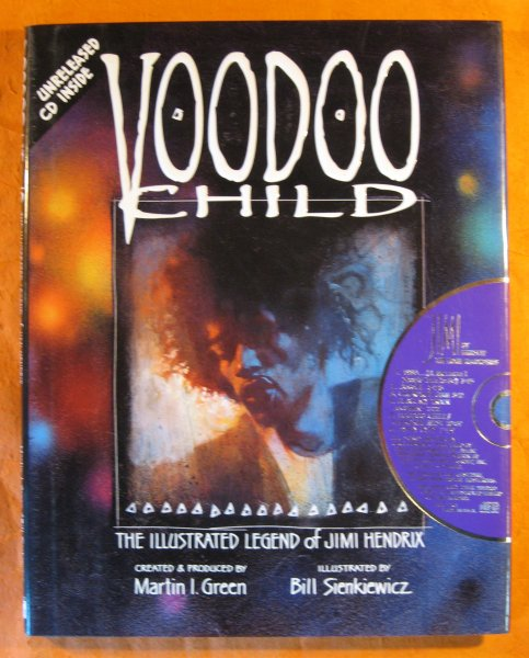 Image for Voodoo Child: The Illustrated Legend of Jimi Hendrix