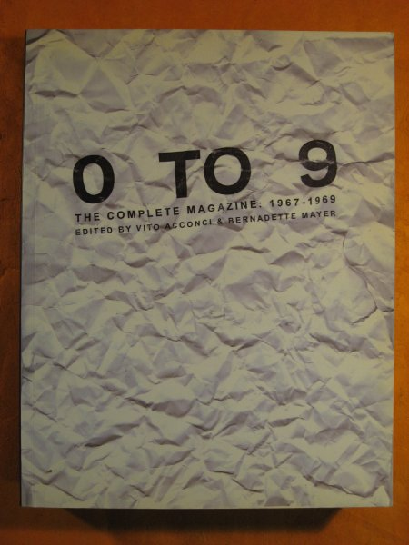 Image for 0 To 9: The Complete Magazine, 1967-1969 (Lost Literature)
