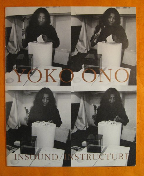 Image for Yoko Ono:  Insound/Instructure