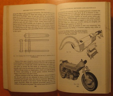 Image for Motorcycle Engineering