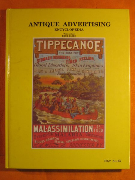 Image for Antique Advertising Encyclopedia