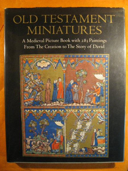 Image for Old Testament Miniatures: A Medieval Picture Book with 283 Paintings from The Creation to The Story of David