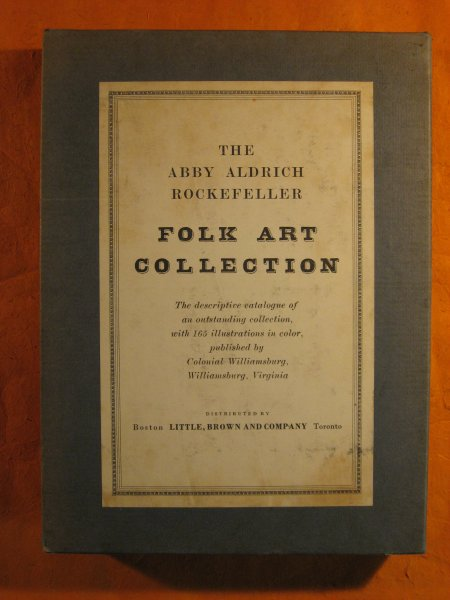 Image for The Abby Aldrich Rockefeller Folk Art Collection: A Descriptive Catalogue