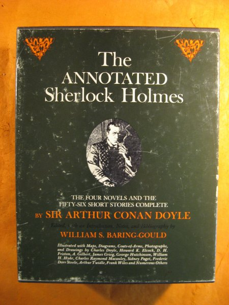 Image for The Annotated Sherlock Holmes:  The Four Novels and the Fifty-Six Short Stories Complete (Two Volume Set)