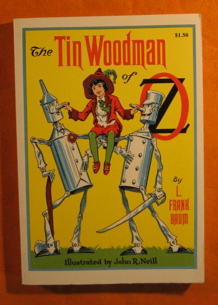 Image for The Tin Woodman of Oz