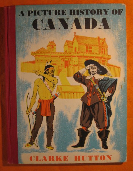 Map Of Canada Unmarked.A Picture History Of Canada Second Edition