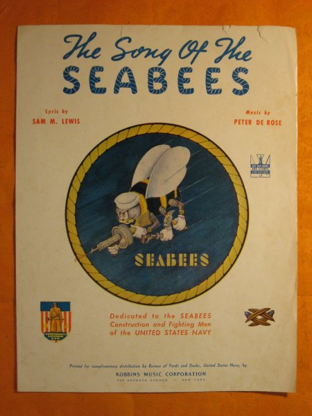 Image for The Song of the Seabees