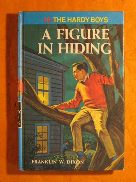 Image for A Figure in Hiding  (Hardy Boys Mystery Stories)