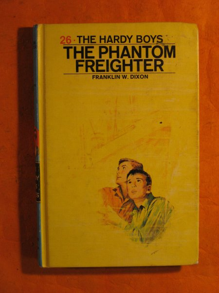Image for The Phantom Freighter (Hardy Boys Mystery Stories)