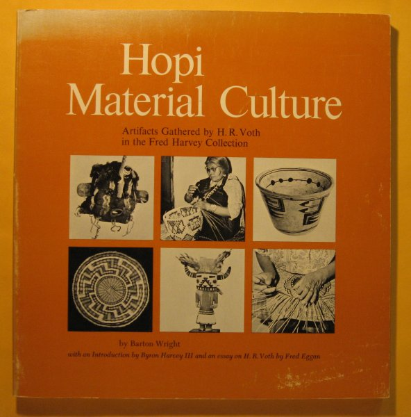 Image for Hopi material culture: Artifacts gathered by H. R. Voth in the Fred Harvey Collection