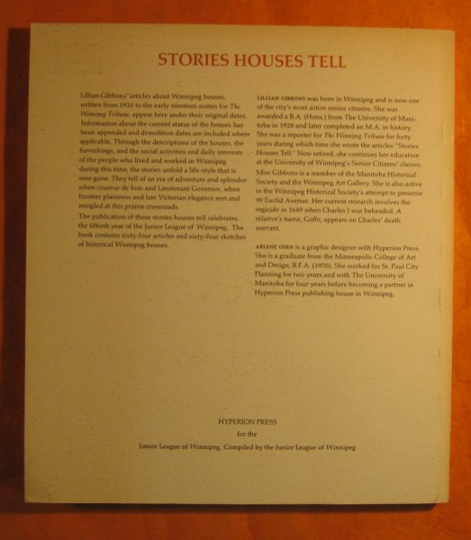 Image for Stories houses Tell