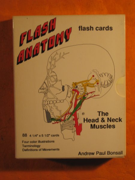 Image for Flash Anatomy:  The Head & Neck Muscles
