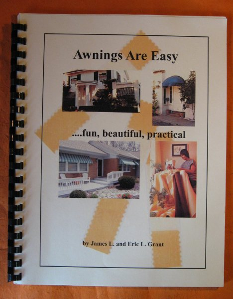 Image for Awnings Are Easy... fun, beautiful, Practica
